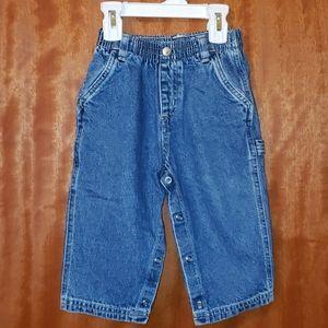 🔷️$8/ea OR 3/$20🔷️Denim Carpenter Baby Pants